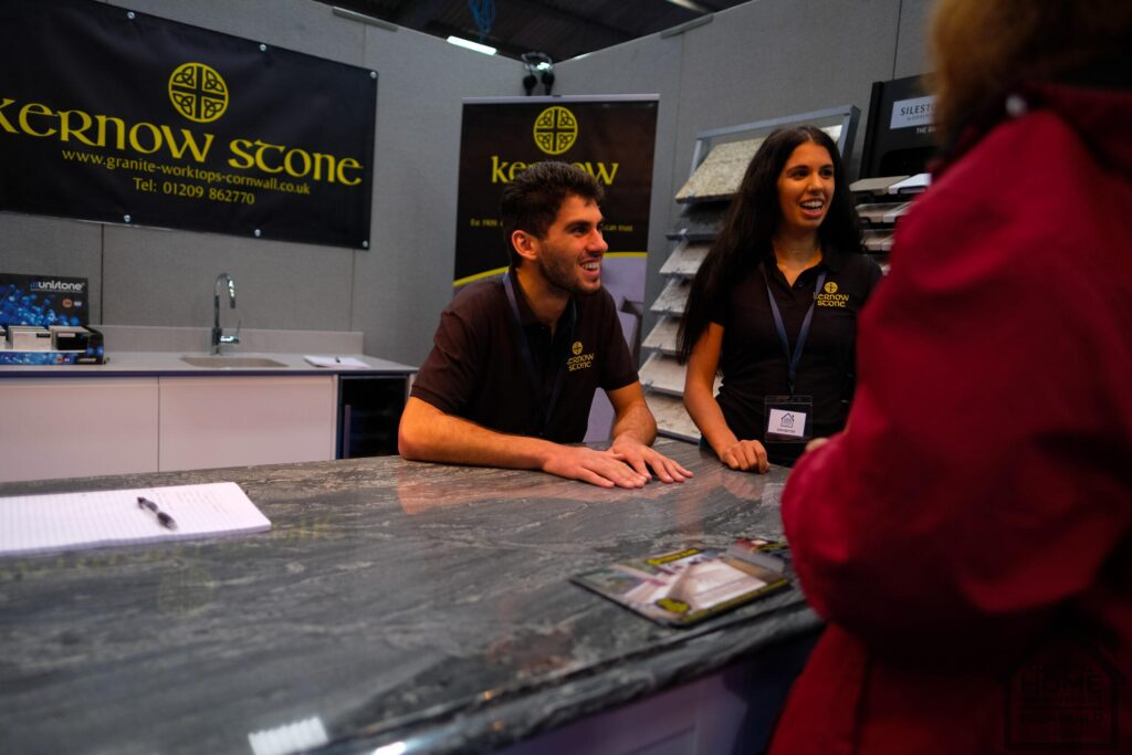 Kernow Stone helping Cornwall Home Improvement & Self Build Show visitors find self-build solutions