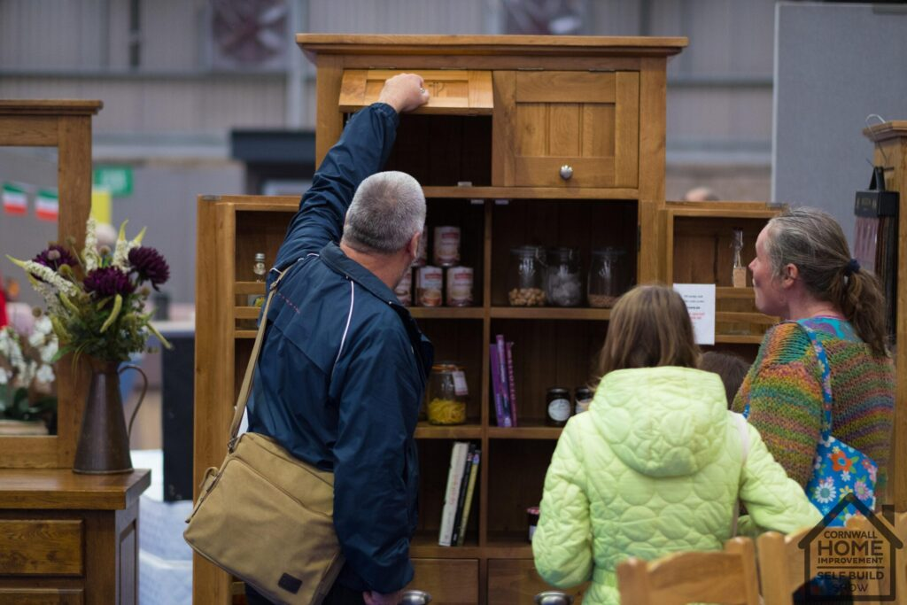 Idea storage soltutions for your home at Cornwall Home Improvement & Self Build Show