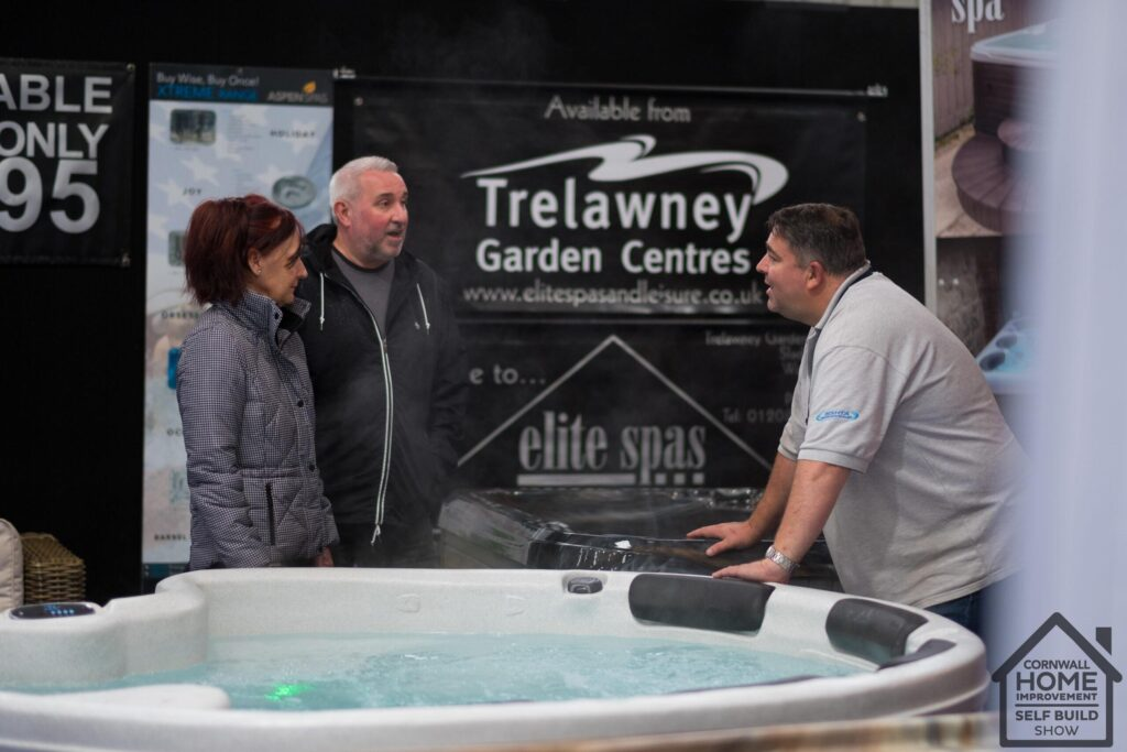 Jacuzzi and garden inspiration at Cornwall Home Improvement & Self Build Show