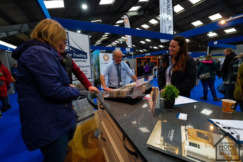 Happy and successful exhibitors at Cornwall Home Improvement & Self Build Show