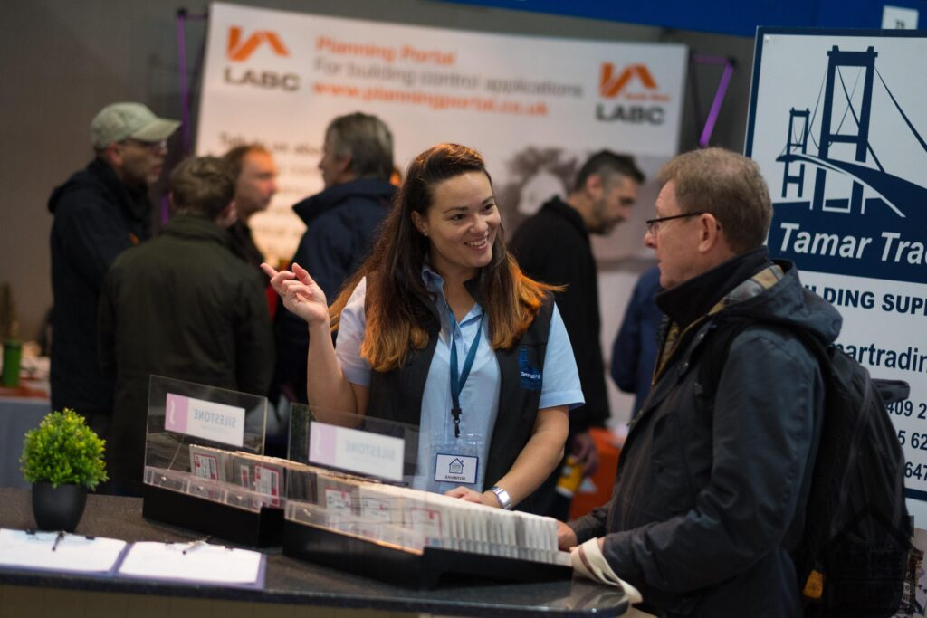 Finding trusted contractors at Cornwall Home Improvement & Self Build Show