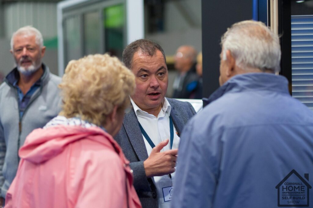 Older home show visitors finding trusted solutions at Cornwall Home Improvement & Self Build Show
