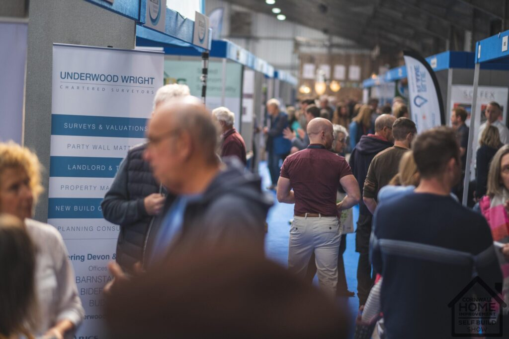 A busy and popular Cornwall Home Improvement & Self Build Show