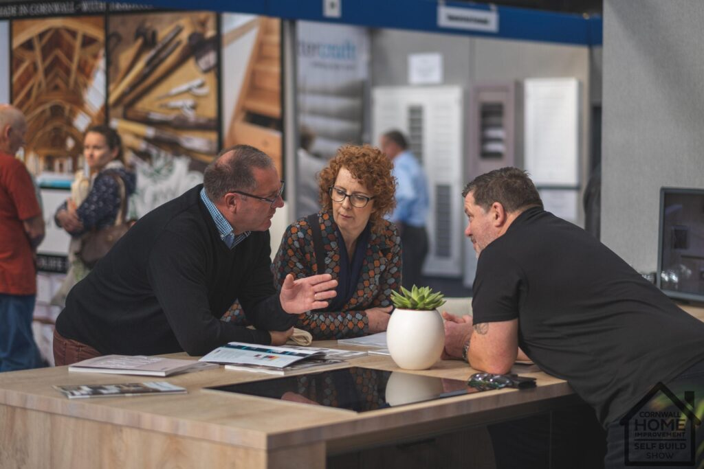 Finding home project advice at Cornwall Home Improvement & Self Build Show