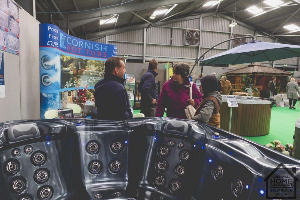 Amazing hot tub and jacuzzi inspiration at Cornwall Home Improvement & Self Build Show