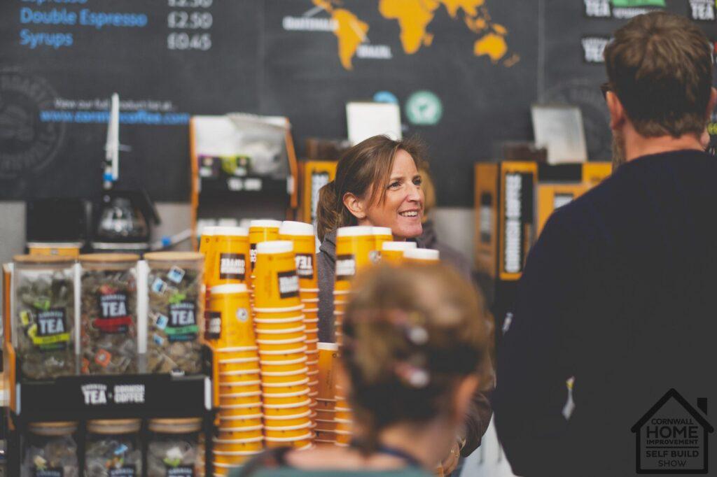 Cornish Coffee at Cornwall Home Improvement & Self Build Show