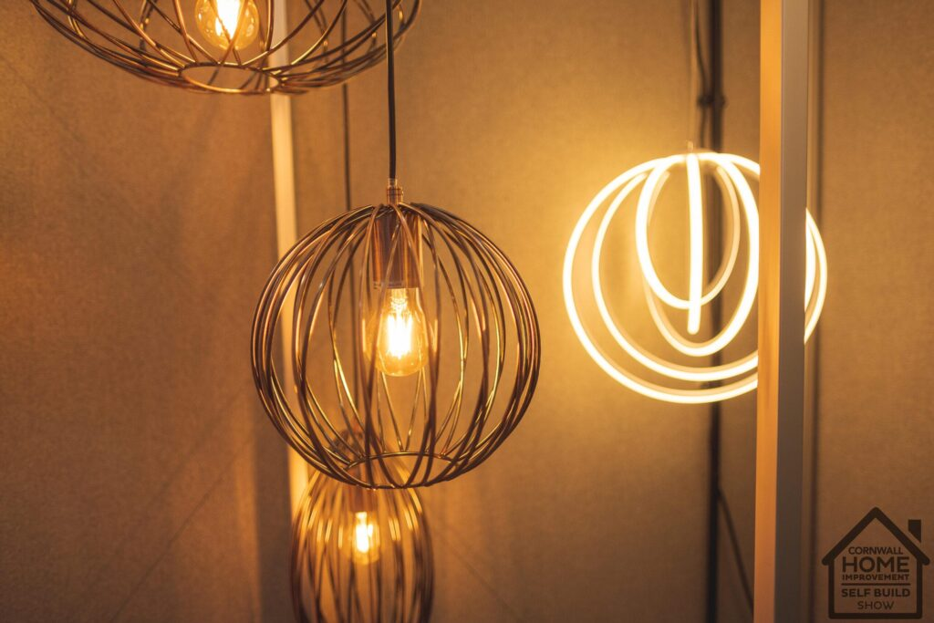Gorgeous lighting inspiration at Cornwall Home Improvement & Self Build Show
