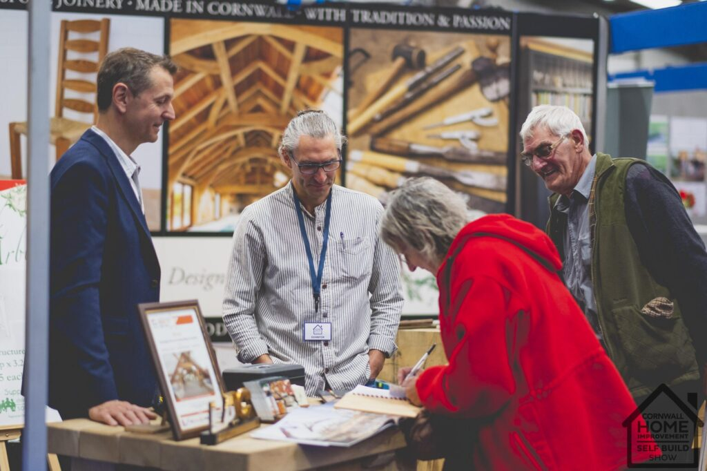 Finding joinery and interior design services at Cornwall Home Improvement & Self Build Show