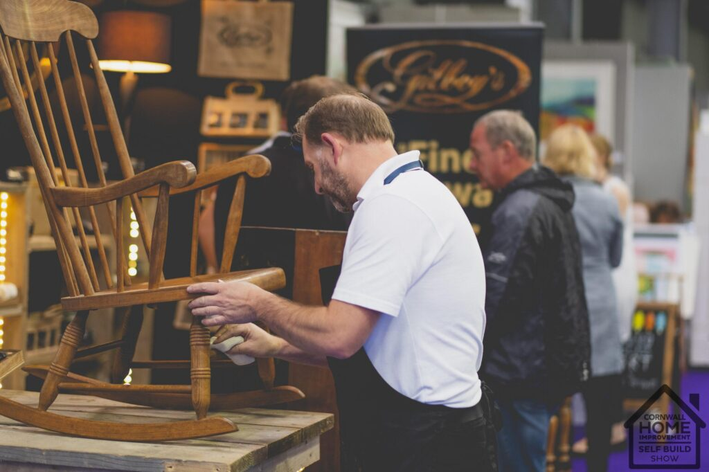 Beautiful handcrafted cornish furniture inspiration at Cornwall Home Improvement & Self Build Show