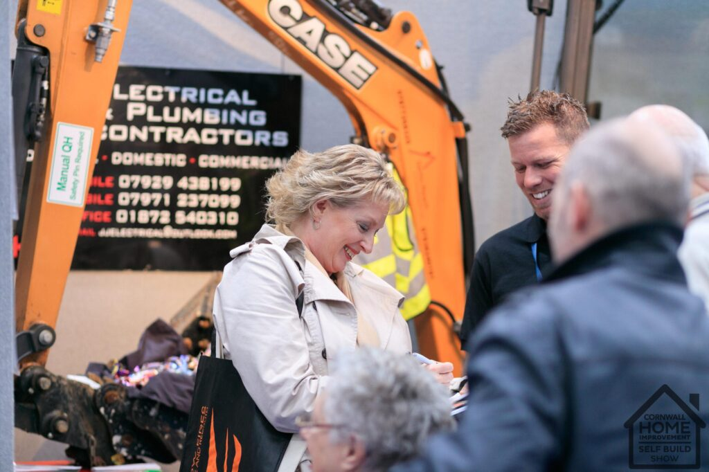 Electrical and plumbing contractors at Cornwall Home Improvement & Self Build Show