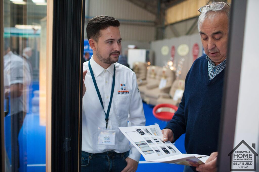 Conservatory and window solutions at the Cornwall Home Imrprovement & Self Build Show
