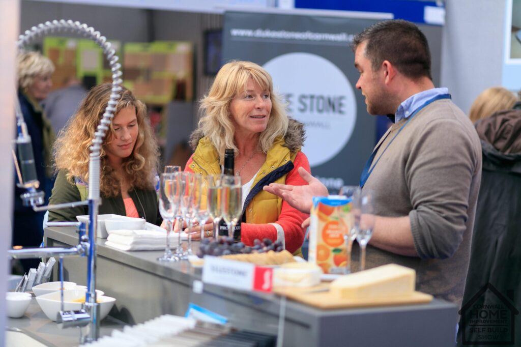 finding kitchen solutions at the Cornwall Self Improvment & Self Build Show