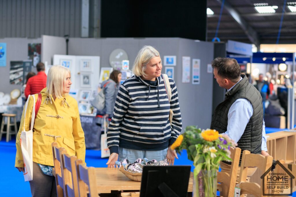 Visitors finding their dream furniture at Cornwall Home Improvement & Self Build Show