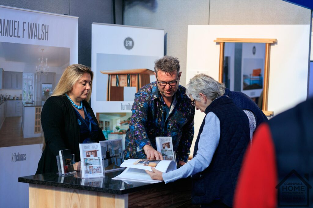 Cornwall Home Imrpovement Show visitors finding kitchen solutions