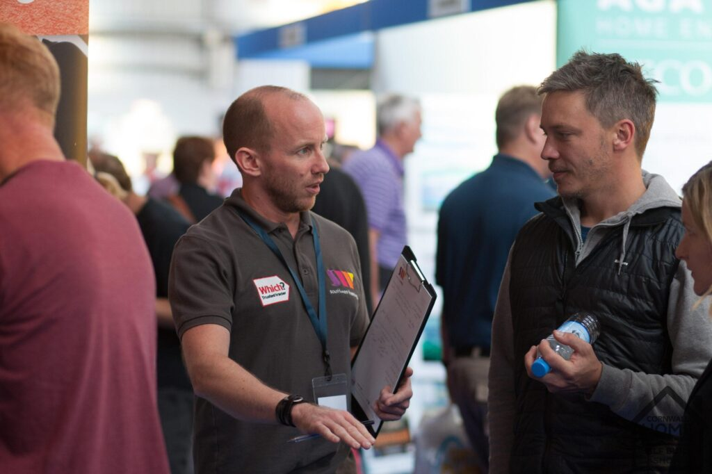 Home Show visitors finding tailored advice